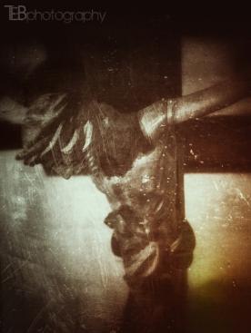 Lenten Crucifix