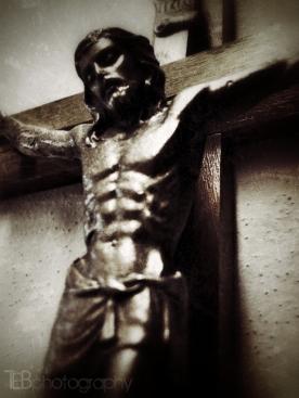Vicar's Study Crucifix